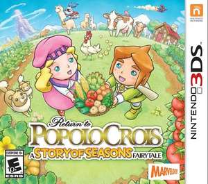 Return to PopoloCrois: A STORY OF SEASONS Fairytale - Nintendo 3DS [American Import] £13.57 @ Amazon.com