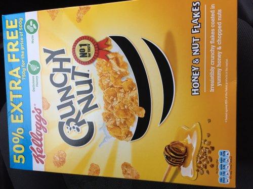 Kelloggs crunchy nut corn flakes 750g - £1.75 @ Farmfoods