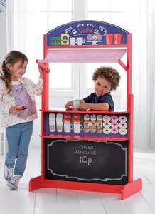 4-In-1 Wooden Playcentre £29.99 + £5 delivery studio.co.uk