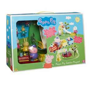 Peppa Pig Jumbo Playset (was £40) Now £20 C&C at Asda George
