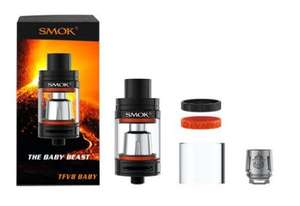 Spend £30 on e-liquid, get a free Cleito 120 or TFV8 Baby tank (worth ~£20+) - £33.49 @ Vap-r