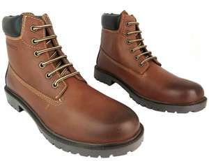 Caff@nero 41194 Men's Dark Brown Leather Upper Lace Up Ankle Walking Boots New £14.73 Ebay / 888wanrong