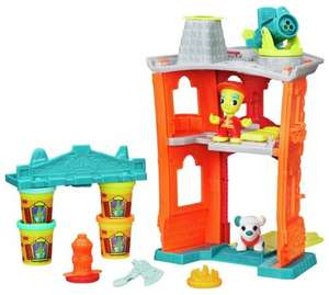Play-Doh Town Firehouse Playset 1/2 PRICE £9.99 WAS £19.99 ARGOS (FREE C+C)