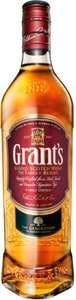 Grant's Scotch Whisky (700ml) was £15.00 now £10.00 @ Sainsbury's