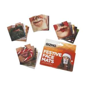 Gizmo 20 Double sided Festive Face Mats in wilko - £3