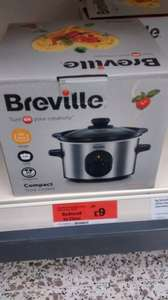 Breville 1.5 litre Compact Slow Cooker - Sainsburys In store RTC Reading £9