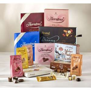 Thorntons - Loads of Chocolate Bundle + 20% Voucher Code - £24