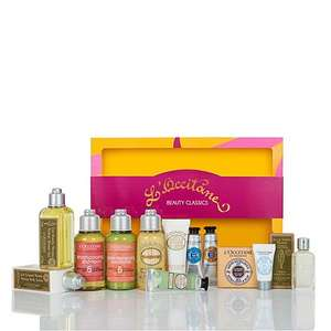 L'Occitane en provence beauty classic half price £50 to £25 Debenhams