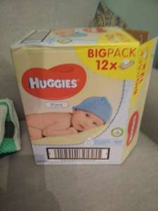 Huggies Pure wipes 12 pack £7 @ Tesco Online & Instore