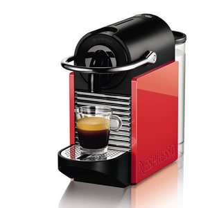 Magimix Nespresso Pixie Carmine Red - with £45 worth of vouchers £15 x 3 by redemption through nespresso club