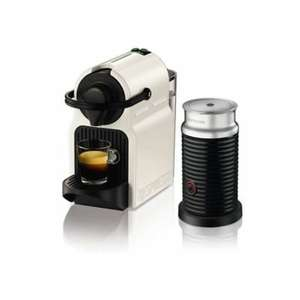 Krups Nespresso Inissia White Coffee Pod Machine & Aeroccino XN101140 at Lakeland £100 and free £75 nespresso voucher deal