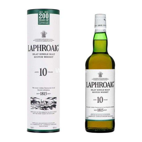Laphroaig 10 Year Single Malt Whisky £26.40 @ Amazon delivered