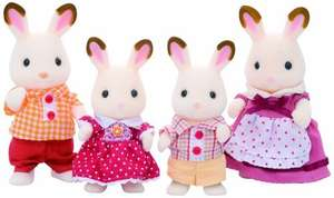 sylvanian families chocolate rabbit family £9  (Prime) / £12.99 (non Prime) @ Amazon