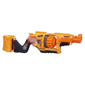 Nerf doomlands 2169 lawbringer blaster was £34.99  now £17.49 half price @ Smyths toys