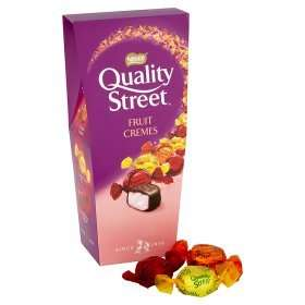 Quality Street  Fruit Creams 265gm box @ Asda £1.50