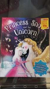 Princess Snow and the Unicorn childrens book 69p in store @ Home Bargains