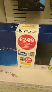 PS4 500GB SLIM WITH FIFA17 +  WATCHDOGS 2 FOR £259 @ Sainsbury's Instore!