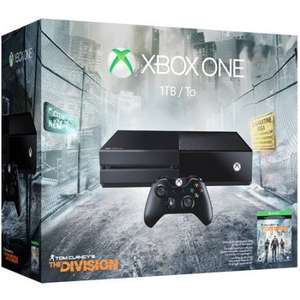 XBox One 1TB Console with the Division and Gears of War 4 £199.99 @ Game