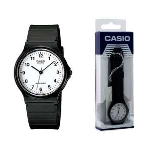 Casio Classic Mens and Ladies Casual Black Wrist Watch MQ-24-7BLL Water Resist 2YR Warranty - Black Only £5.29 @ 7Dayshop.com