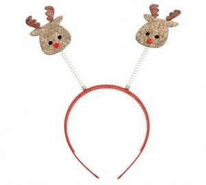 rudolph antlers from argos - 9p