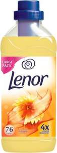 Lenor Fabric Conditioner Concentrate Summer Breeze - 76 Washes (1.9L) was £5.00 now £2.50 @ Ocado