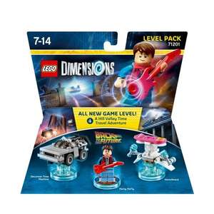 Lego Dimensions - Back to the Future Level Pack: £14.24 at Tesco Direct (free C&C)
