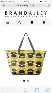 Orla kiely at brand alley, bags from £45 and £25 for a purse