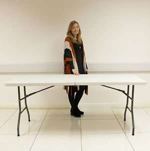 6FT HEAVY DUTY FOLDING TABLE GREAT FOR CAR BOOTS ETC £29.99 DELIVERED
