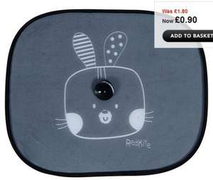 Red Kite car sunshades 90p at Asda online (free C&C)