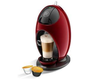 NESCAFE Dolce Gusto Jovia Manual Coffee Machine - Red + £10 credit £29.99 Argos EDIT 18/11 NOW WITH 10% QUIDCO