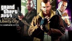 GTA IV Complete Edition PC/Steam - £6.84