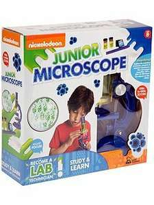 Nickelodeon Study & Learn Junior Microscope £5 WAS £12 HOUSE OF FRASER (FREE C+C)