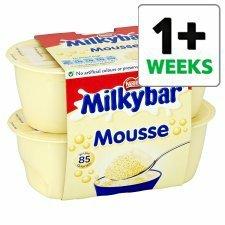 Milkybar Mousse 4 X 55G 65p Tesco