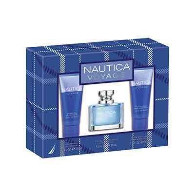 Nautica Voyage eau de toilette 30ml Gift set. £7.99! plus £1.99 delivery fragrancedirect