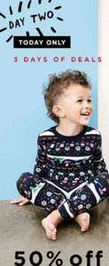 50% off Gap sleepwear (& extra 20% off from email sign up) Today Only