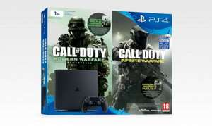 PS4 Slim Console 1TB + Call of Duty: Infinite Warfare & Modern Warfare Remastered £239.99 @ Shopto via eBay