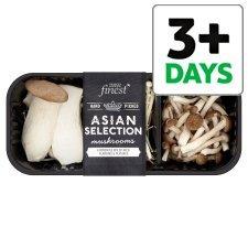 Tesco Finest Asian Selection mushrooms £1.00