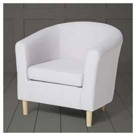 Tub Chair- Light Grey at tesco direct £66.75 with code