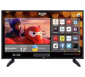 Bush 49inch FHD Smart TV with Freeview Play £269.99 NOW LIVE @ Argos