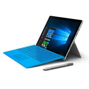 Microsoft Surface Pro 4 -128GB / Intel Core m3 + Surface pen & Type Cover £599 OR The i5/128GB version £699 @ Microsoft Store