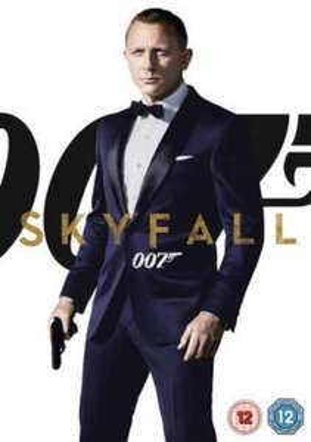 Skyfall 007 blu ray steelbook used @ ebay-musicmagpie £1.34