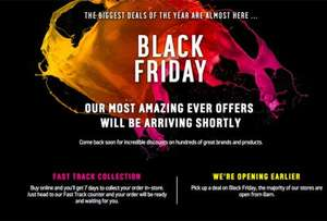 Argos Black friday 2016 deals (Friday 18-25th November 2016)