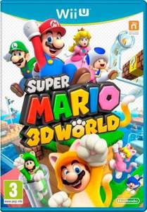 Super Mario 3D World (Nintendo Wii U) @grainger games £14.99 (used), £19.99 (new)