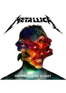 Metallica hardwired...To self-destruct 3 disc deluxe edition delivered (released tomorrow) £14.99 @ Base.com