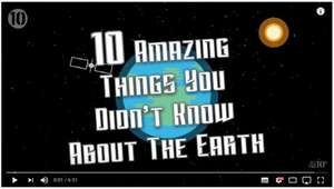 Youtube Documentary - 10 Things You Never Knew About The Earth