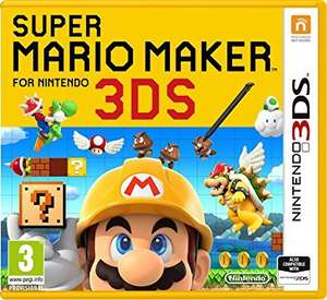 Super Mario Maker 3DS (Nintendo 3DS) £28 pre order @ Amazon (£2 extra discount for Prime users)