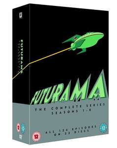 Futurama DVD season 1-8 £19.99 @ Amazon