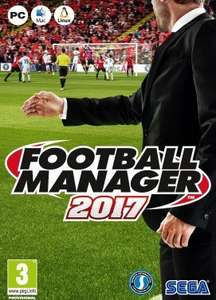Football Manager 2017 (Steam) £21.27 - Instant Gaming
