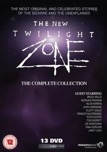 The New Twilight Zone Complete DVD Boxset - £13.50 Delivered at Zoom.co.uk