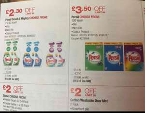 Costco deal-Persil 120 wash-13.18/liquid wash -12.58 for 2